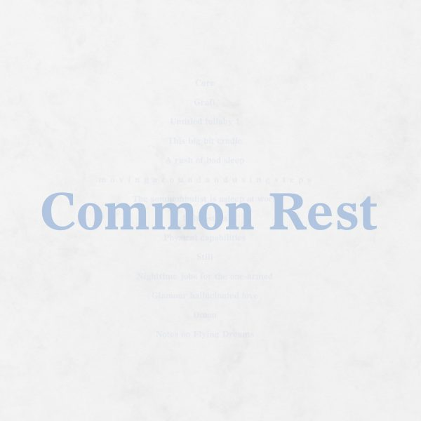Common Rest booklet cover