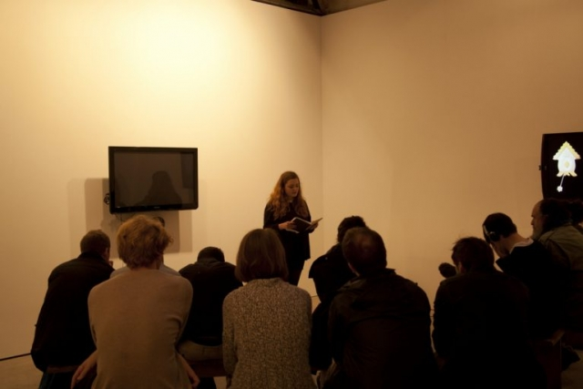 Stewart Home Live at Hannah Barry Gallery